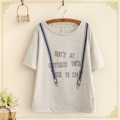 Fairyland - Print Short-Sleeve T-Shirt