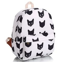 YUNA - Cat Printed Backpack