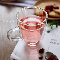 Kawa Simaya - Double Layer Glass Mug