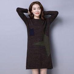 Romantica - Star Print Knit Dress