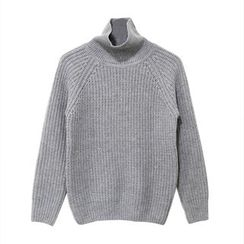 Mr. Cai - Mock-Neck Sweater