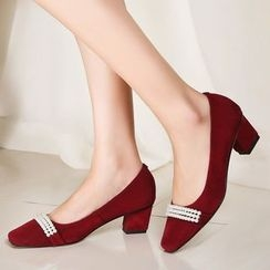 Sidewalk - Block Heel Pumps