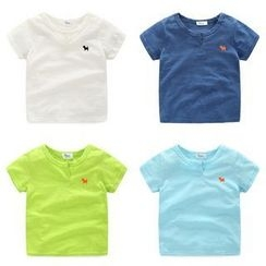 WellKids - Kids Short-Sleeve Embroidery T-Shirt