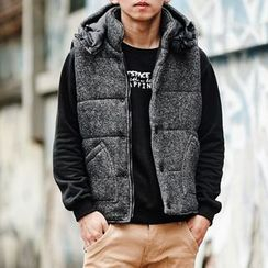 SeventyAge - Padded Vest with Hood