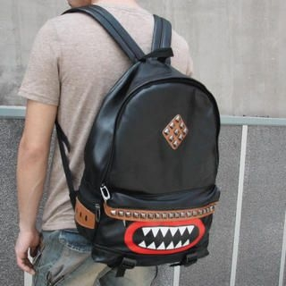 MURATI - Studded Printed Backpack