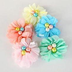 Chapa - Kids Beaded Flower Hair Clip