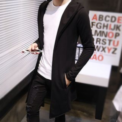 Sheck - Hooded Long Cardigan