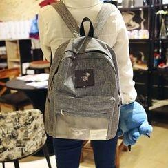 Carryme - Applique Canvas Backpack