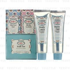 Cath Kidston - Blossom Bath Set: Shower Gel 75ml + Body Lotion 75ml