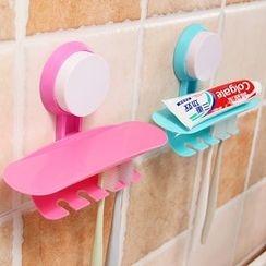Yulu - Wall Suction Toothbrush Holder