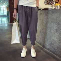 Sheck - Cropped Tapered Pants