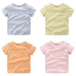 WellKids - Kids Short-Sleeve Pocket-Accent T-Shirt