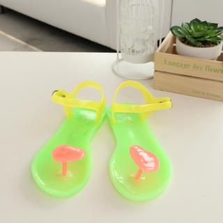 59 Seconds - Heart Jelly Sandals