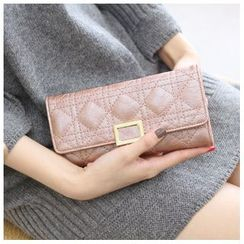 Rinka Doll - Quilted Long Wallet