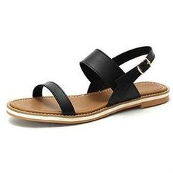 MODELSIS - Strap Sling-Back Sandals