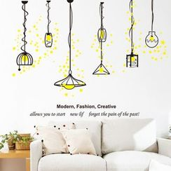 LESIGN - Light Wall Sticker