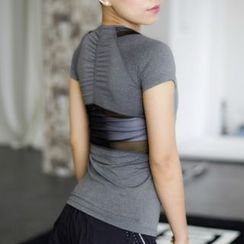 Morning Body - Quick Dry Cap Sleeve Top
