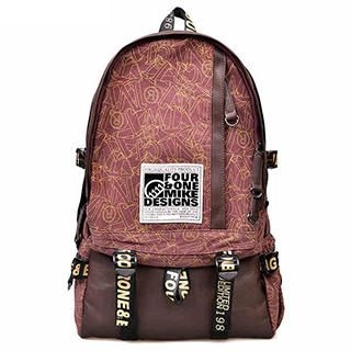 Fourone - Contrast-Strap Color-Block Backpack