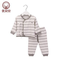 Yobaby - Baby Set : Stripe Top + Pants