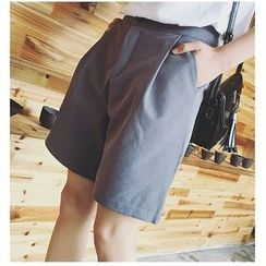 HazyDazy - Wide Leg Shorts