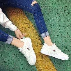 Wello - 刺繡休閒鞋