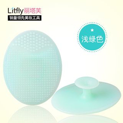 Litfly - Facial Massage Cleansing Tool (Pale Green)