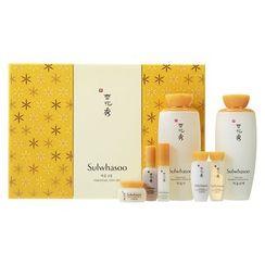Sulwhasoo - Essential Duo Set B: Balancing Water EX 125ml + 15ml + Balancing Emulsion EX 125ml + 15ml + Rejuvenating Eye Cream EX 3.5ml + Firming Cream EX 5ml + First Care Activating Serum Ex 8ml