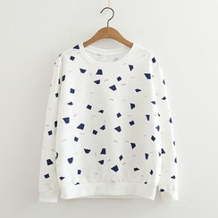 MAOMAO - Print Long-Sleeve T-shirt