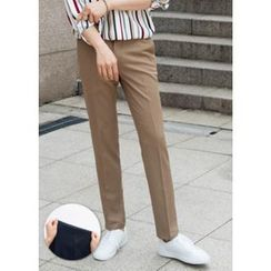 GERIO - Flat-Front Dress Pants