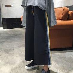 Cloud Nine - Cropped Wide Leg Pants