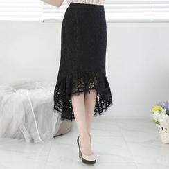 Tokyo Fashion - Lace Maxi Skirt