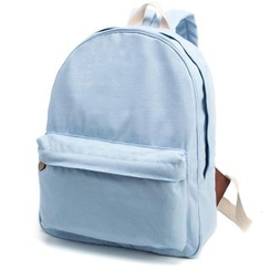 Gardenia - Plain Canvas Backpack