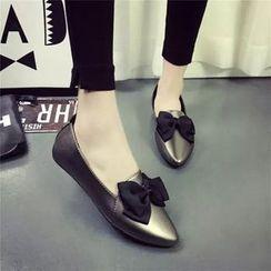 YIVIS - 尖头平跟鞋