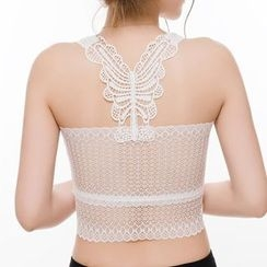 Dayuni - Cropped Lace Camisole