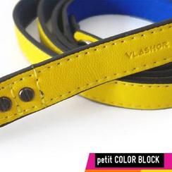 Vlashor - 幼-黄色 + 蓝色 (正面+底)相机带