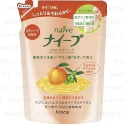 Kracie - Naïve Skin Care Body Wash (Apricot and Olive) (Refill)