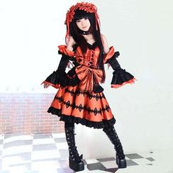 Coshome - Date A Live Kurumi Tokisaki Cosplay Costume
