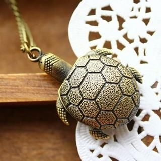 Cuteberry - Turtle Pocket Watch