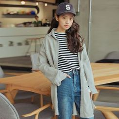 AiAi Bear - Corduroy Long Jacket