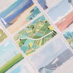 雲木良品 - 印花明信片套裝 (30pcs)