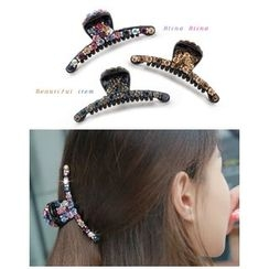 Miss21 Korea - Rhinestone Hair Clamp