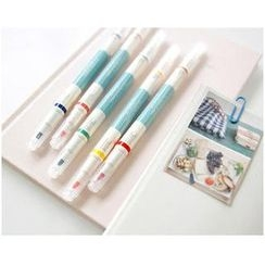 Zakka - Set of 5: Fluorescent Marker Pen