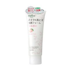Kracie - Kracie Naive Foaming Facial Cleanser (Peach)