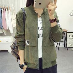 EFO - Applique Zip Jacket