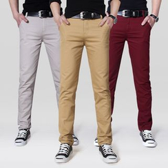 DUKESEDAN - Slim Fit Chino Pants