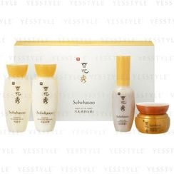 Sulwhasoo - Basic Kit (4 items): Serum 8ml + Water 15ml + Emulsion 15ml + Cream 5ml
