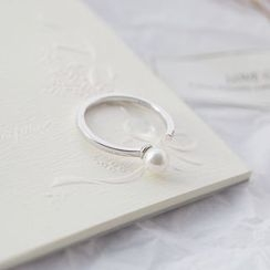 Love Generation - Faux Pearl Open Ring