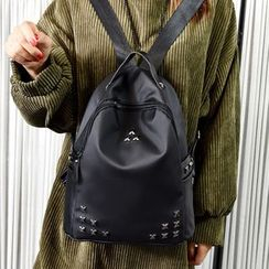 Tasche - Studded Nylon Backpack