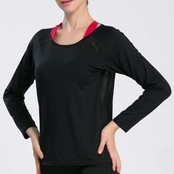 LAVIE.Q - Long Sleeve Open Back Quick Dry Top