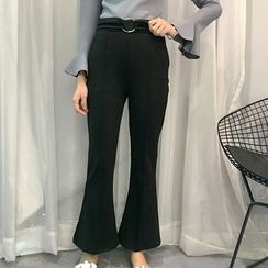 Octavia - Plain Boot Cut Pants